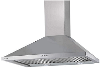 Glen 60cm Pyramid Kitchen Chimney