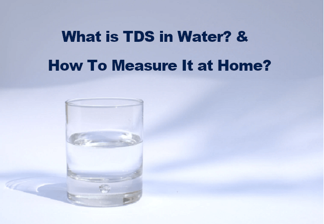 what is TDS in water