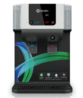 Water purifier with hot and cold