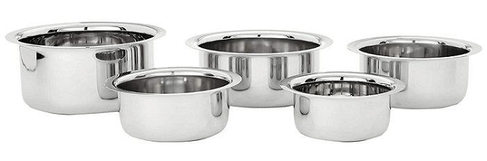 Amazon Brand - best stainless steel cookware in India